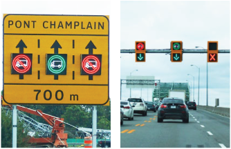 blank out signs vs dynamic message signs canada