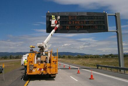 Variable Message Signs Maintenance