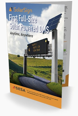 Solar Powered Variable Message Signs