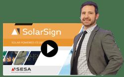 Solar Sign Presenter